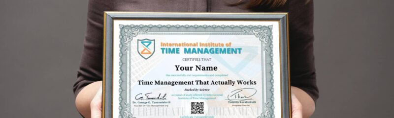 Time Management That Actually Works – Backed By Science!